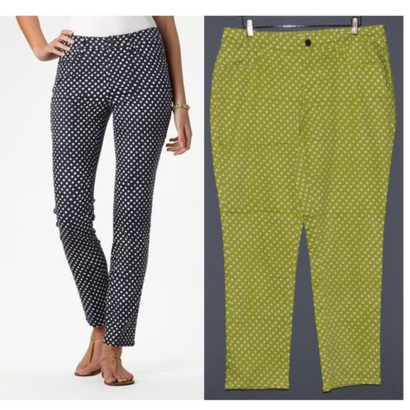 New COLDWATER CREEK Seeing Spots Ankle Jeans [E9]